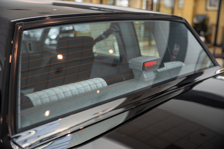 1987 Buick GNX rear window