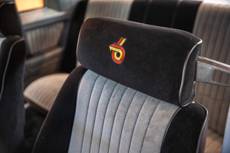1987 Buick GNX headrest close-up
