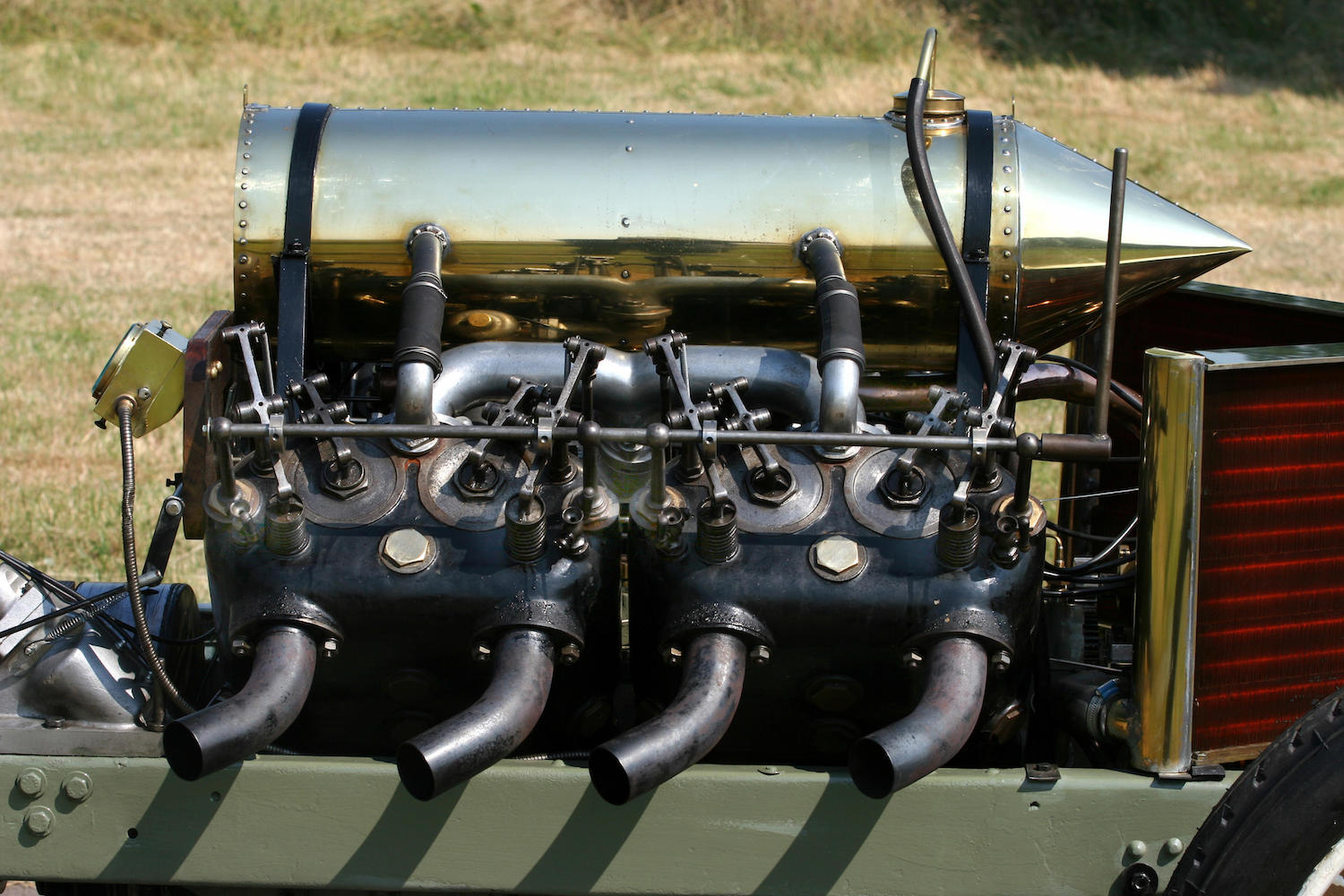 1905 Darracq Sprint Two-Seater engine