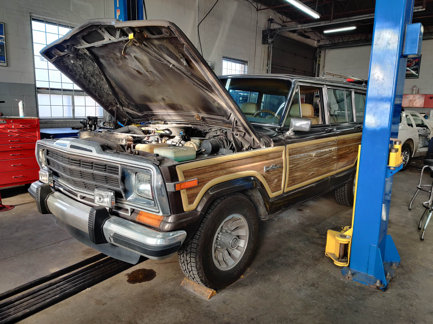 Ls Swapping My 87 Jeep Grand Wagoneer Did Not Go As Planned Hagerty Media