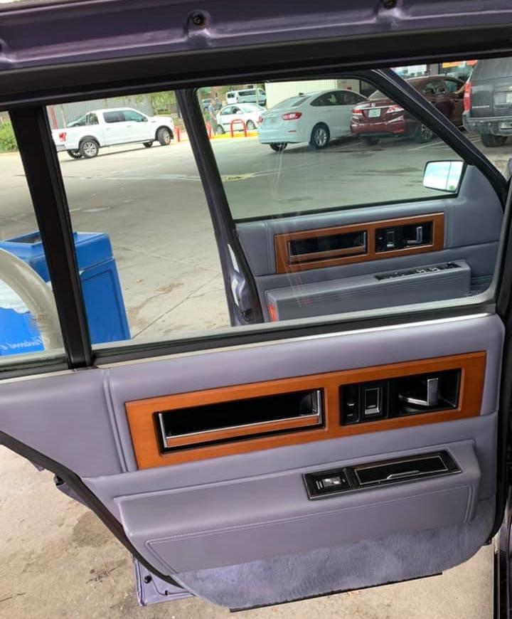 80s cadillac interior door panel