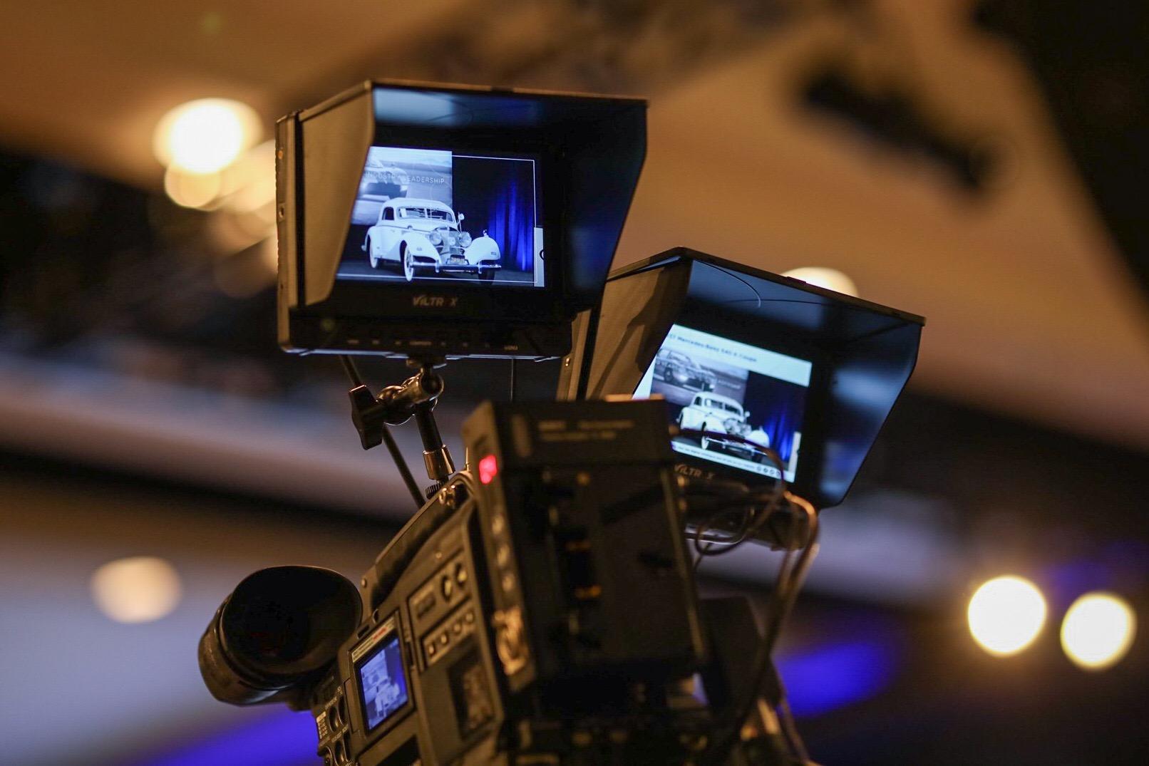 Mercedes-Benz 540 K cameras at sale