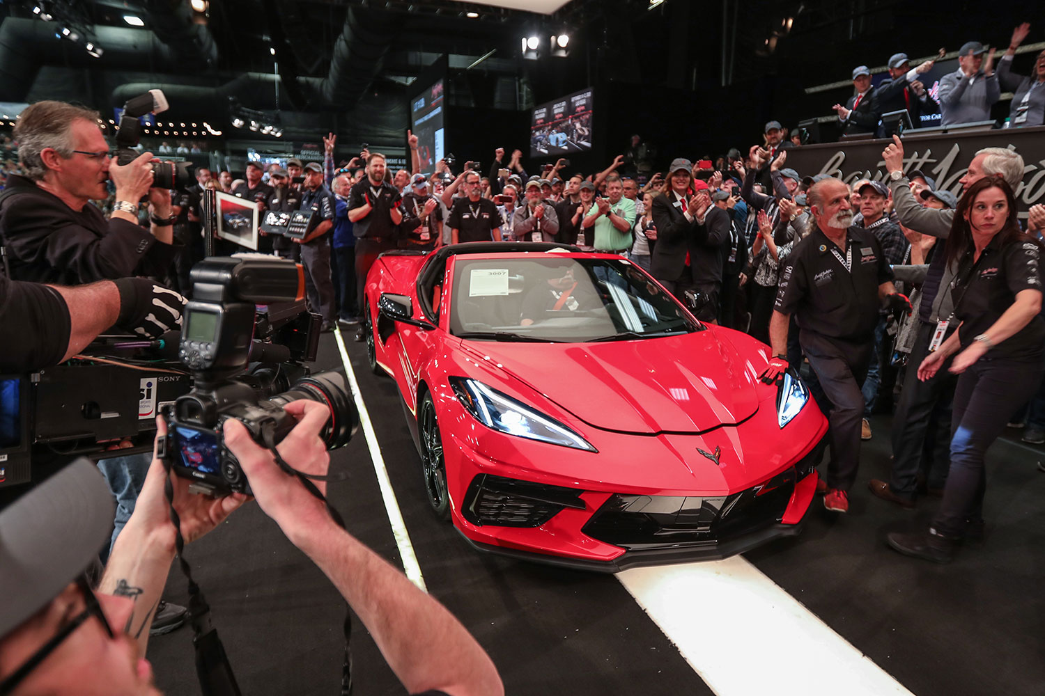 First production 2020 Corvette Stingray sells for $3 million thumbnail