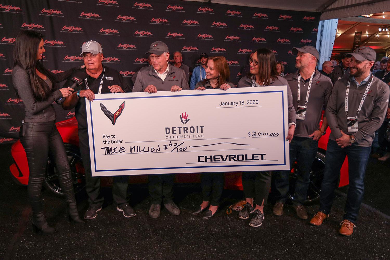 Rick Hendrick buys Vin 001 Corvette C8