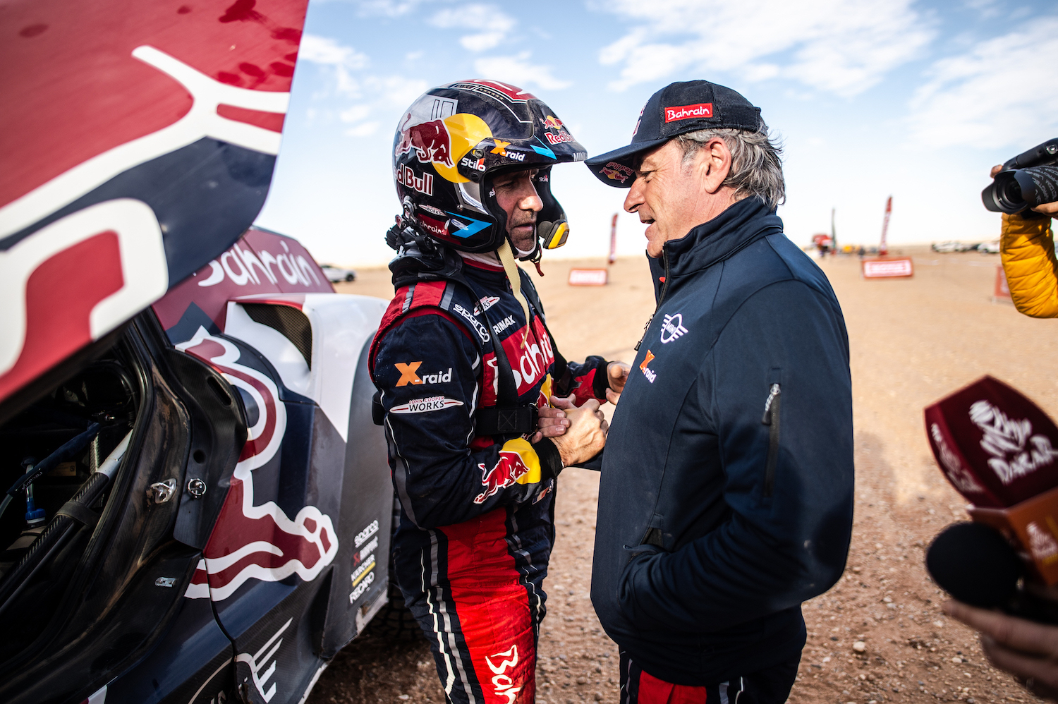 rally car race teams talk
