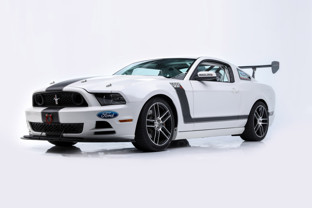 2013 Ford Mustang Boss 302S Race Car