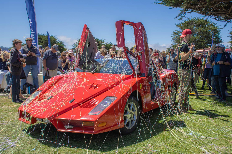 Mike Garrett's spectacularly bad 1986 Pontiac Fiero based Ferrari Enzo kit car.