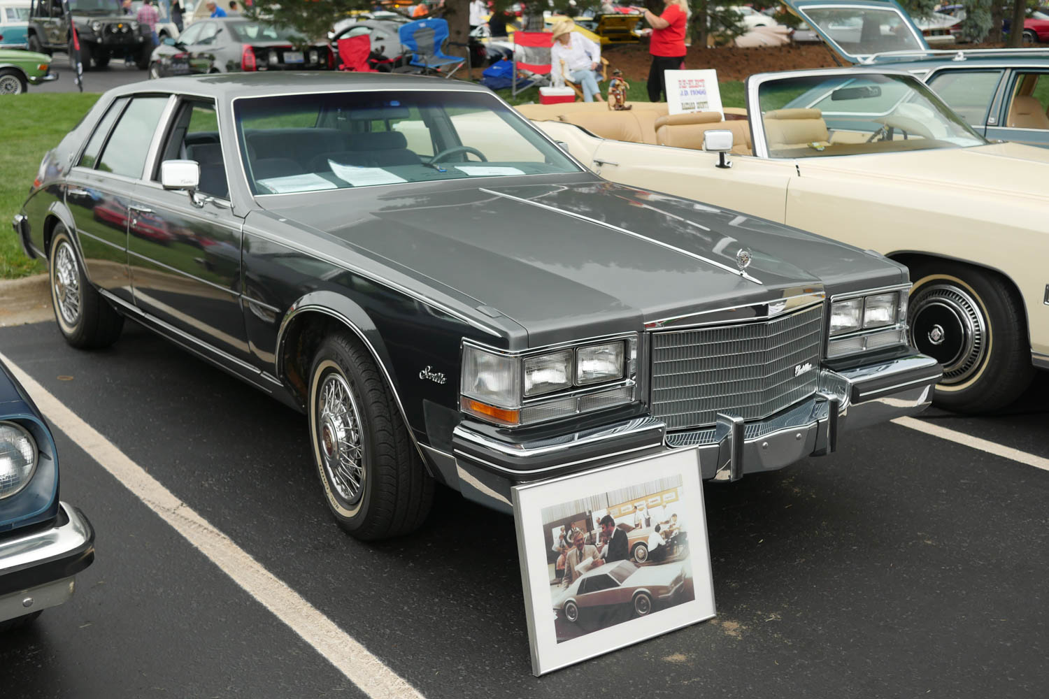 Sometimes Worst of Show honors go to a pristine example of a bad car, as was the case at the 2016 Michigan Concours d'Lemons when Debra McDonald's time capsule 1983 Cadillac Seville won Worst of Show.