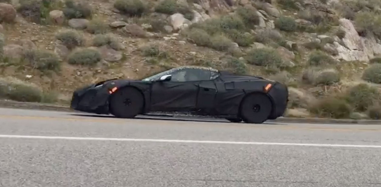 This sure sounds like a flat-plane C8 Corvette