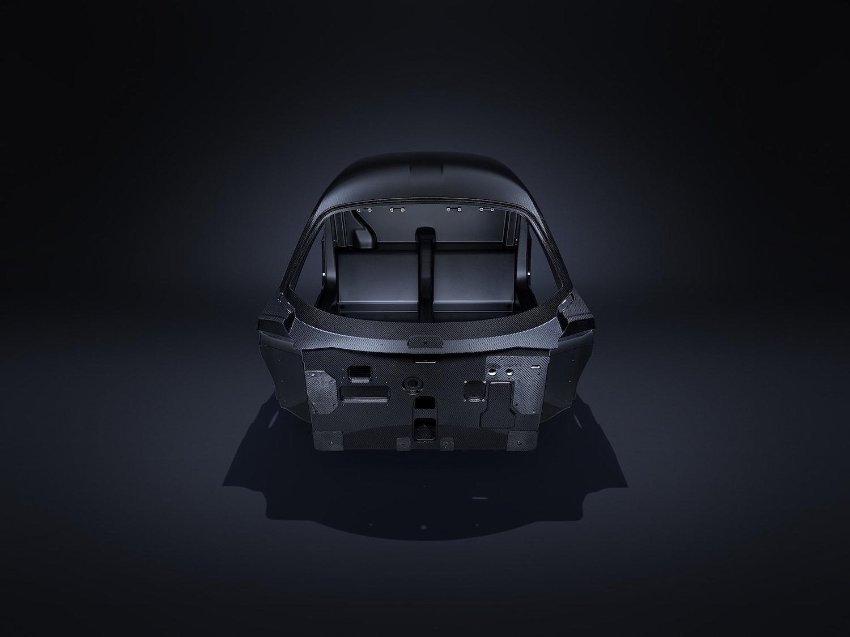 full carbon tub