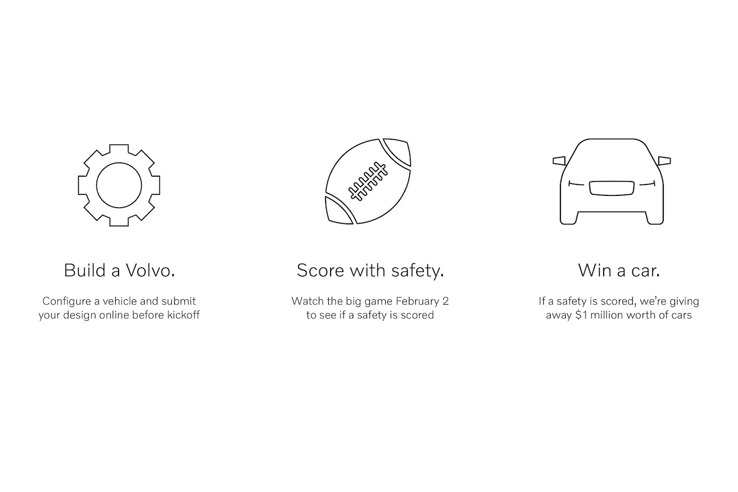volvo in game safety sweepstakes graphic