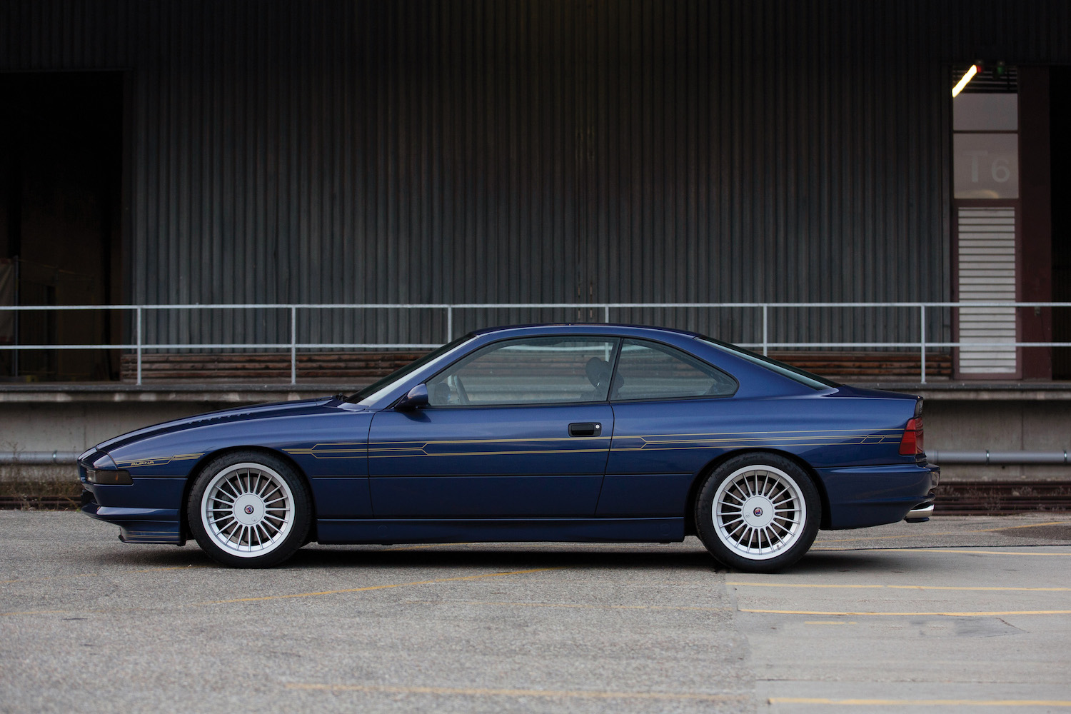 1993 BMW Alpina B12 5.7 Coupe side-view