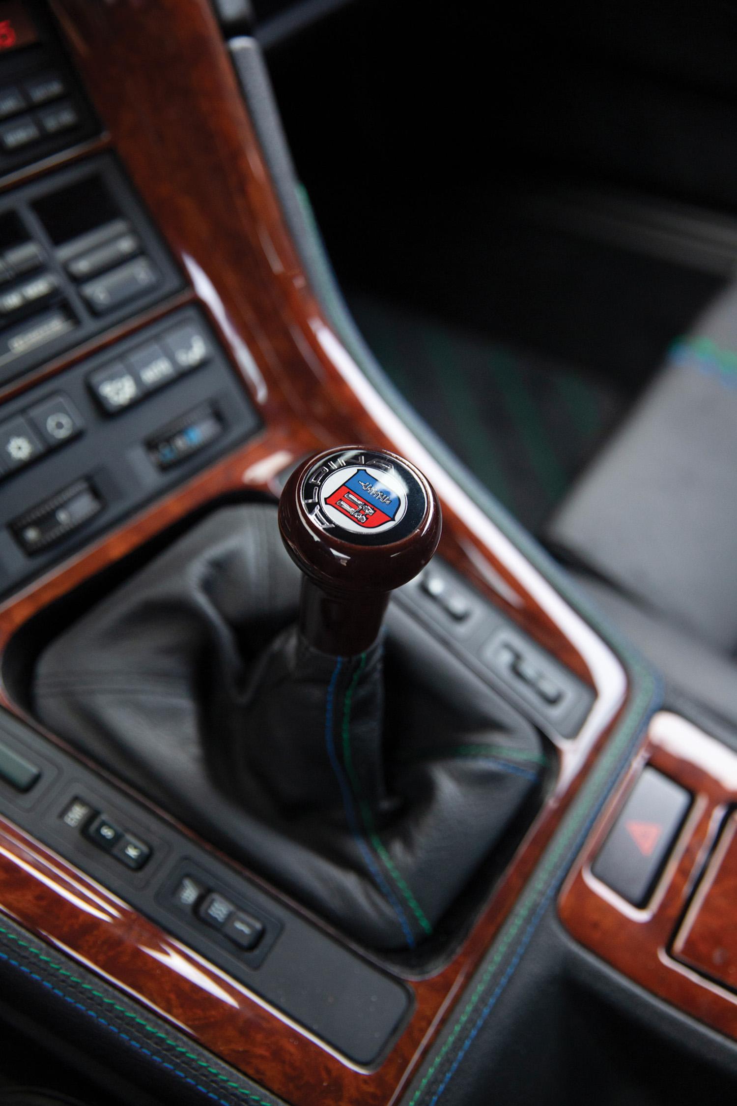 1993 BMW Alpina B12 5.7 Coupe manual shifter