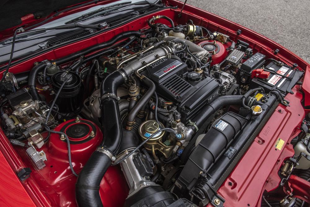 1990 Toyota Supra Turbo Targa engine