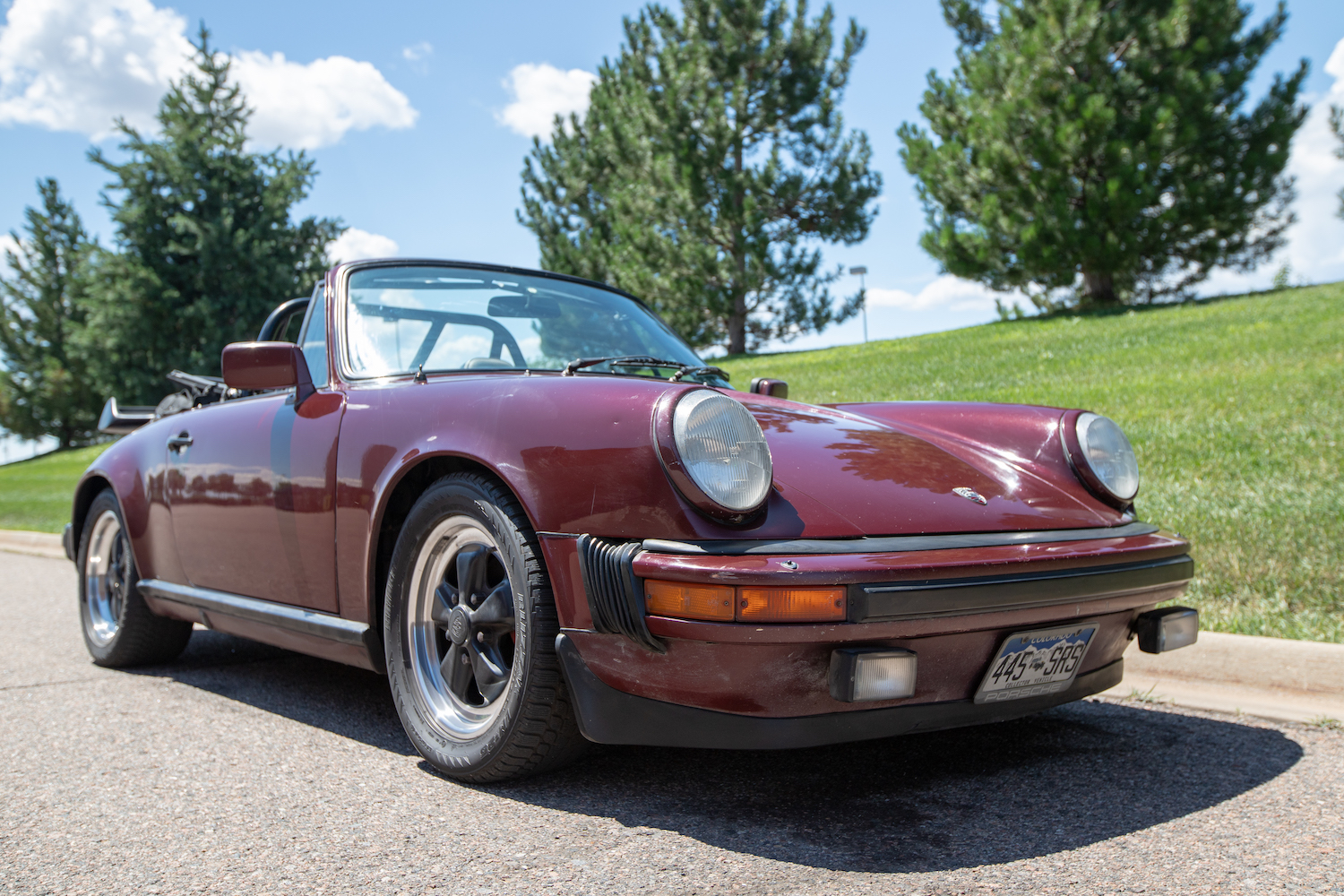 The 1983 Porsche 911SC Cabriolet is an open-air treat
