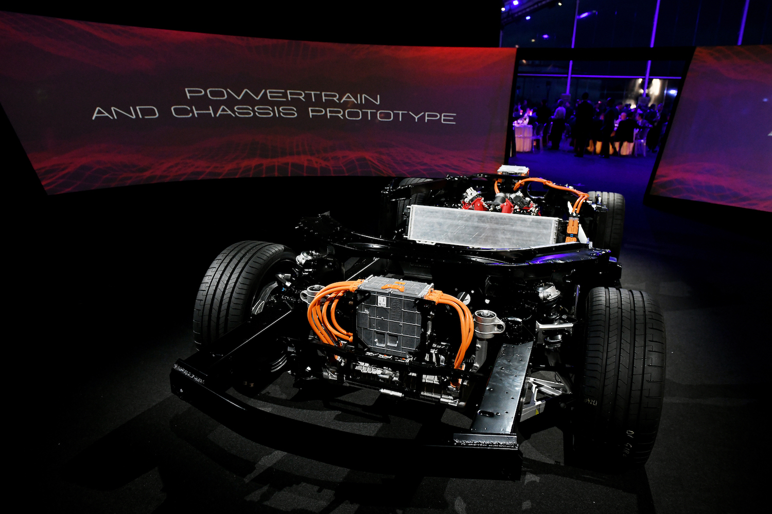 electric powertrain and chassis prototype