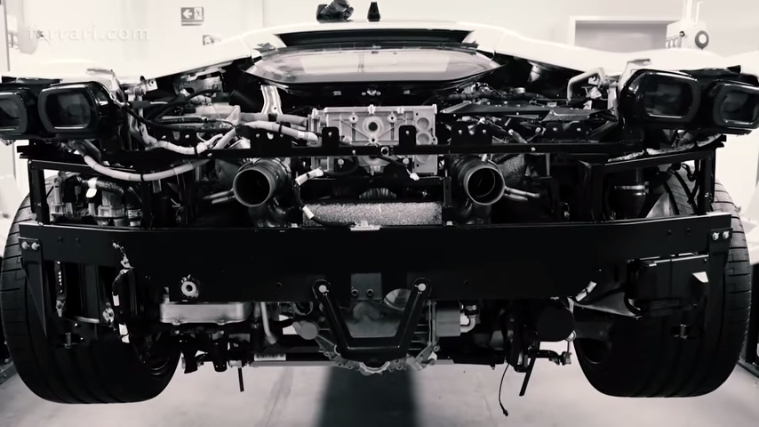 Watching Ferrari build its new SF90 flagship hybrid is highly dramatic