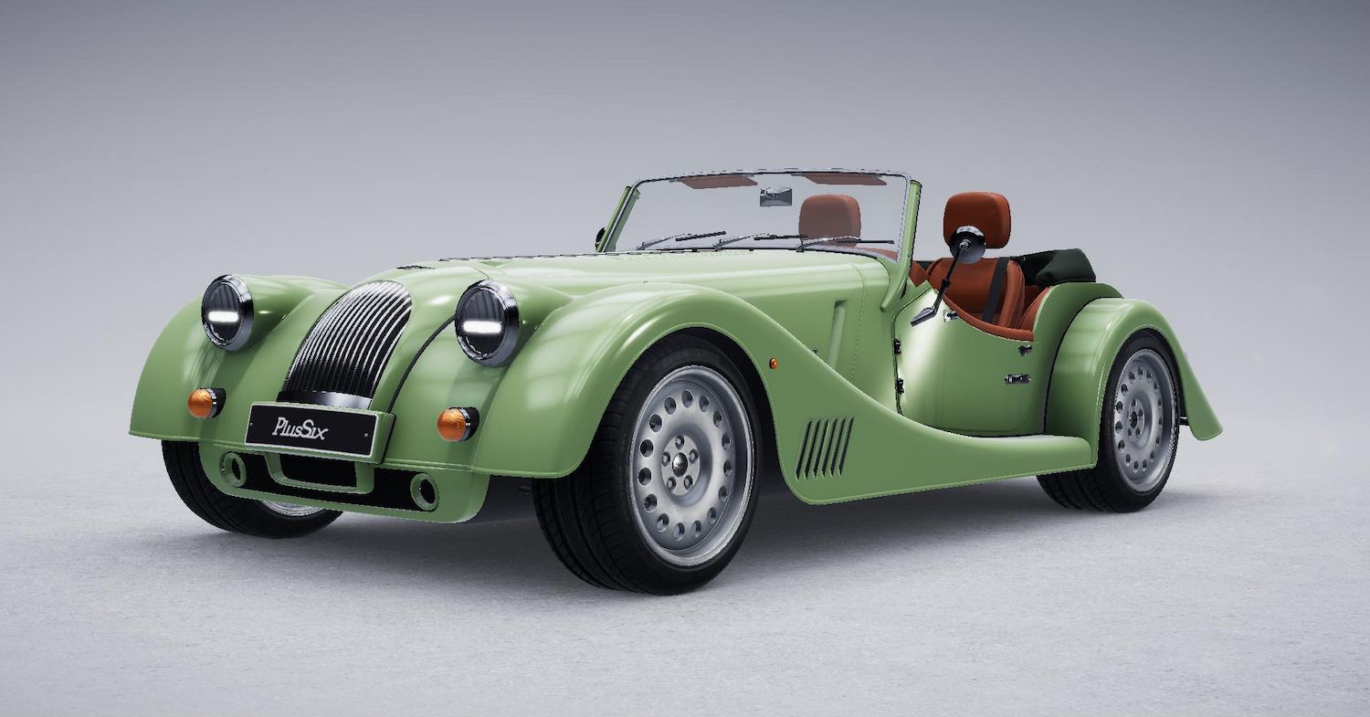 Morgan's new Plus Six configurator demands a coffee break