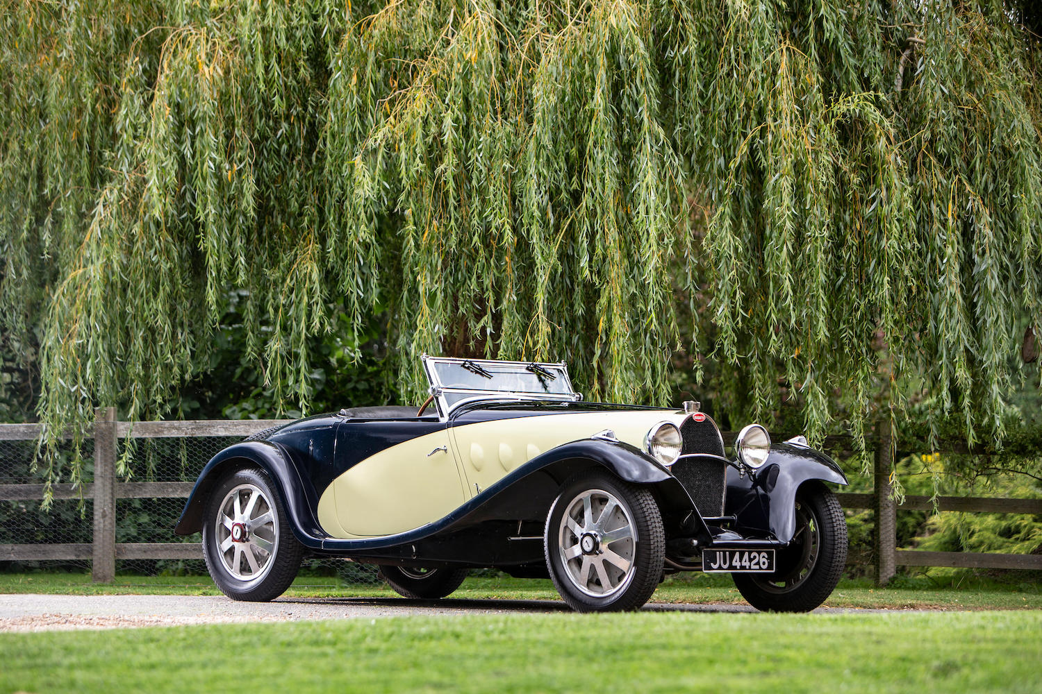 931 Bugatti Type 55 Two-Seat Supersport front three-quarter