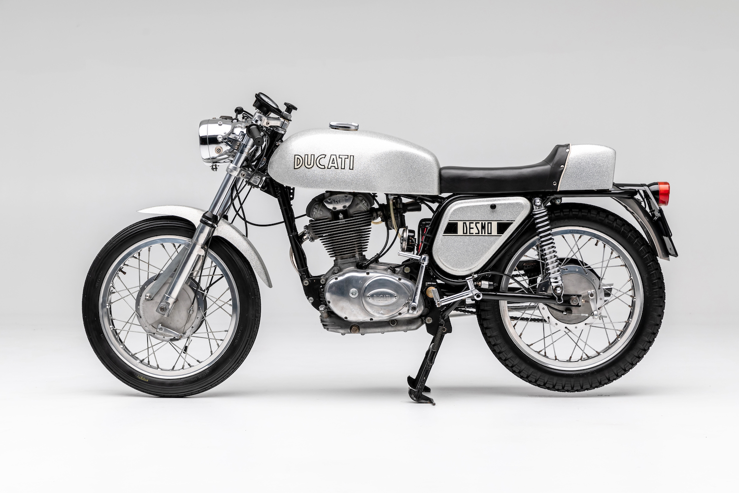 Silver Shotgun: '60s and '70s Italian motorcycles sparkle in new Petersen exhibit