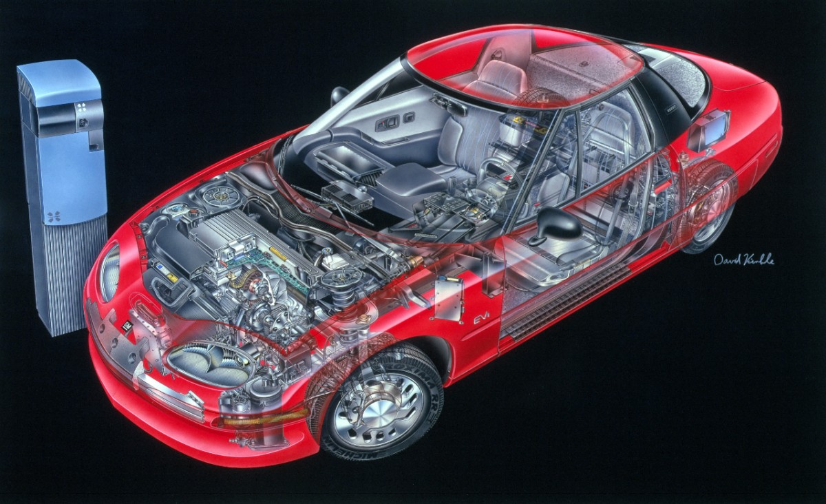 1996 EV1 the first modern day electric propulsion system