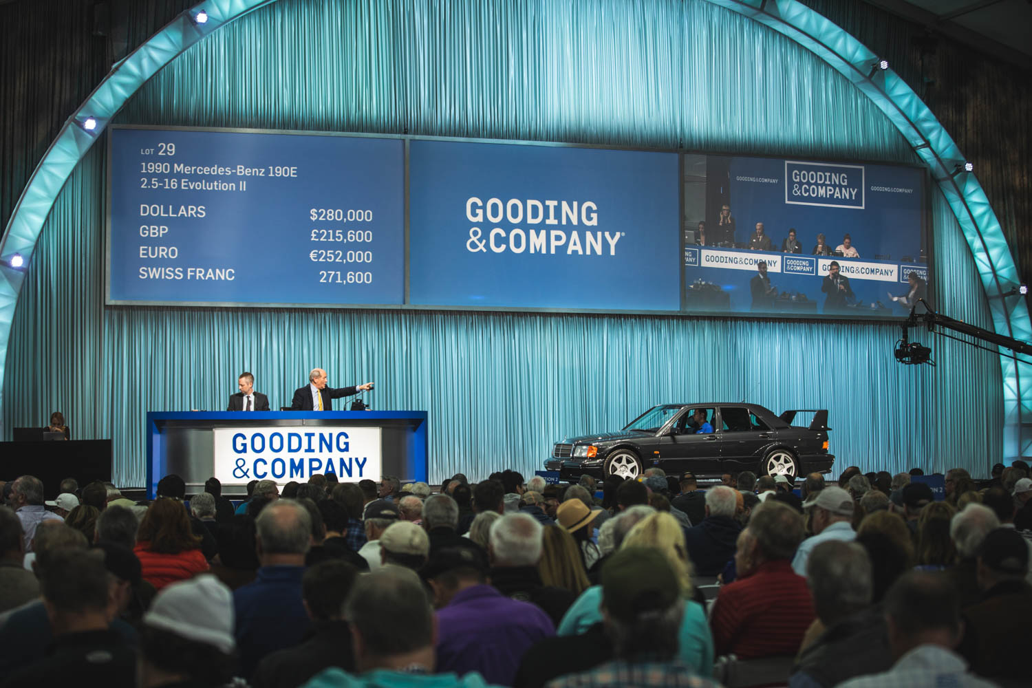 Gooding & Company Mercedes-Benz 190E sale