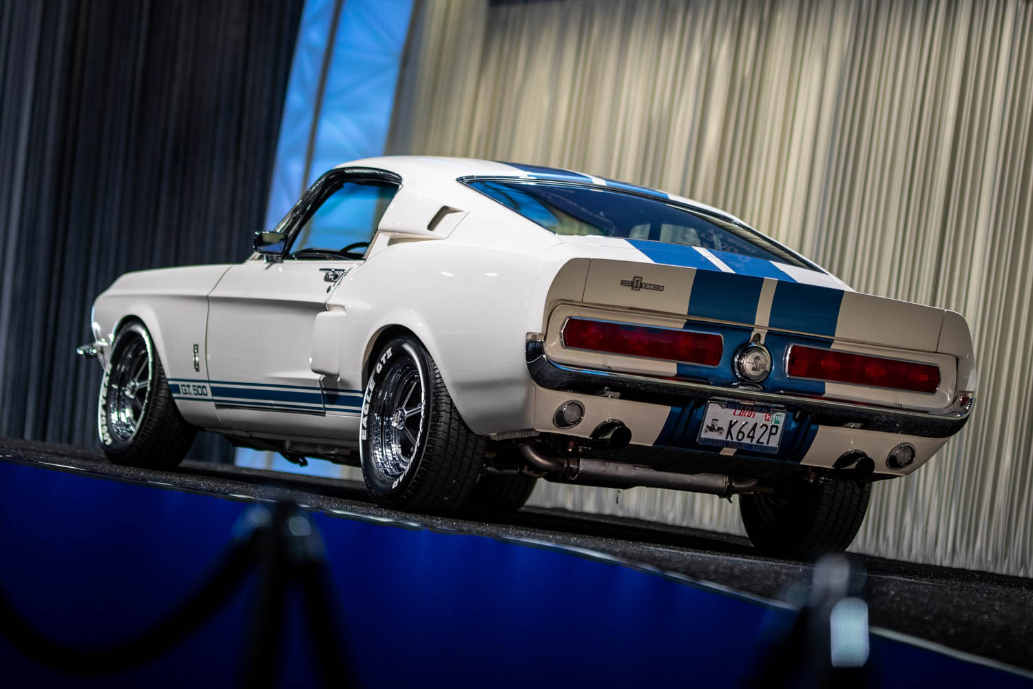 Prudhomme owned 1967 Shelby GT500 at Gooding & Company