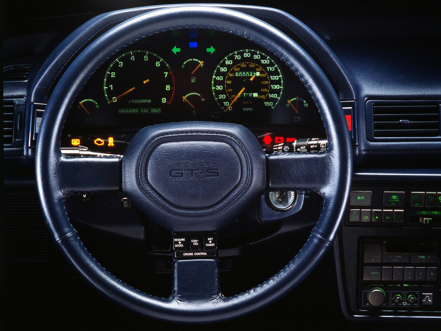 interior steering wheel