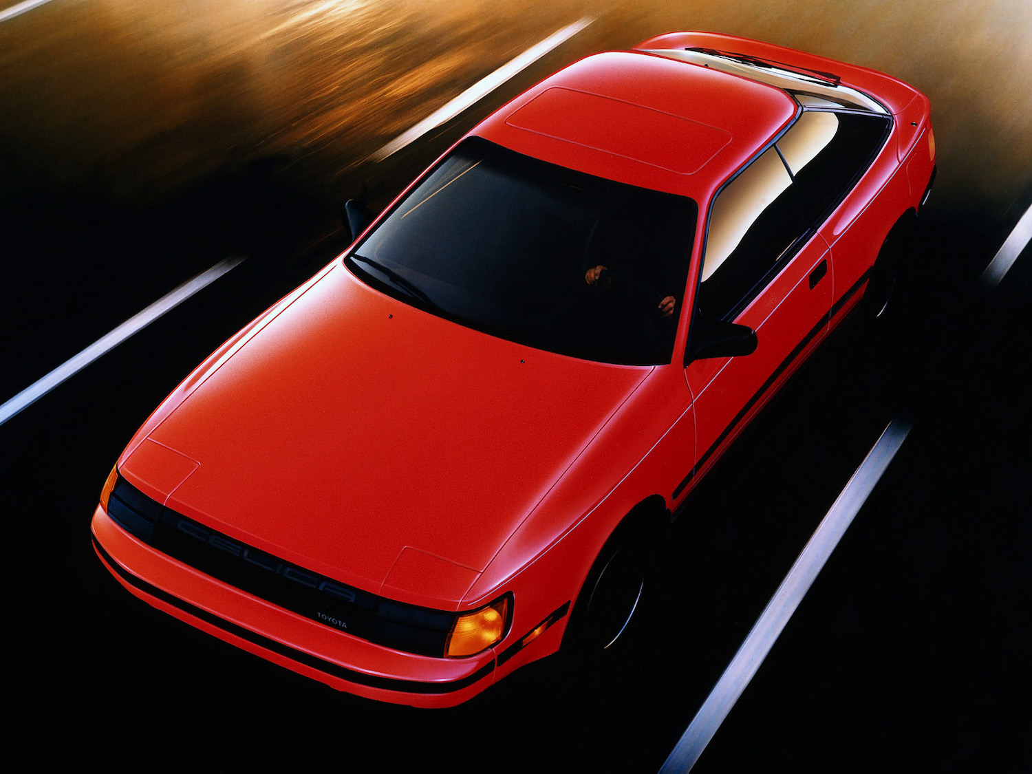 "The 1986 Toyota Celica is ""obviously driver-oriented"""