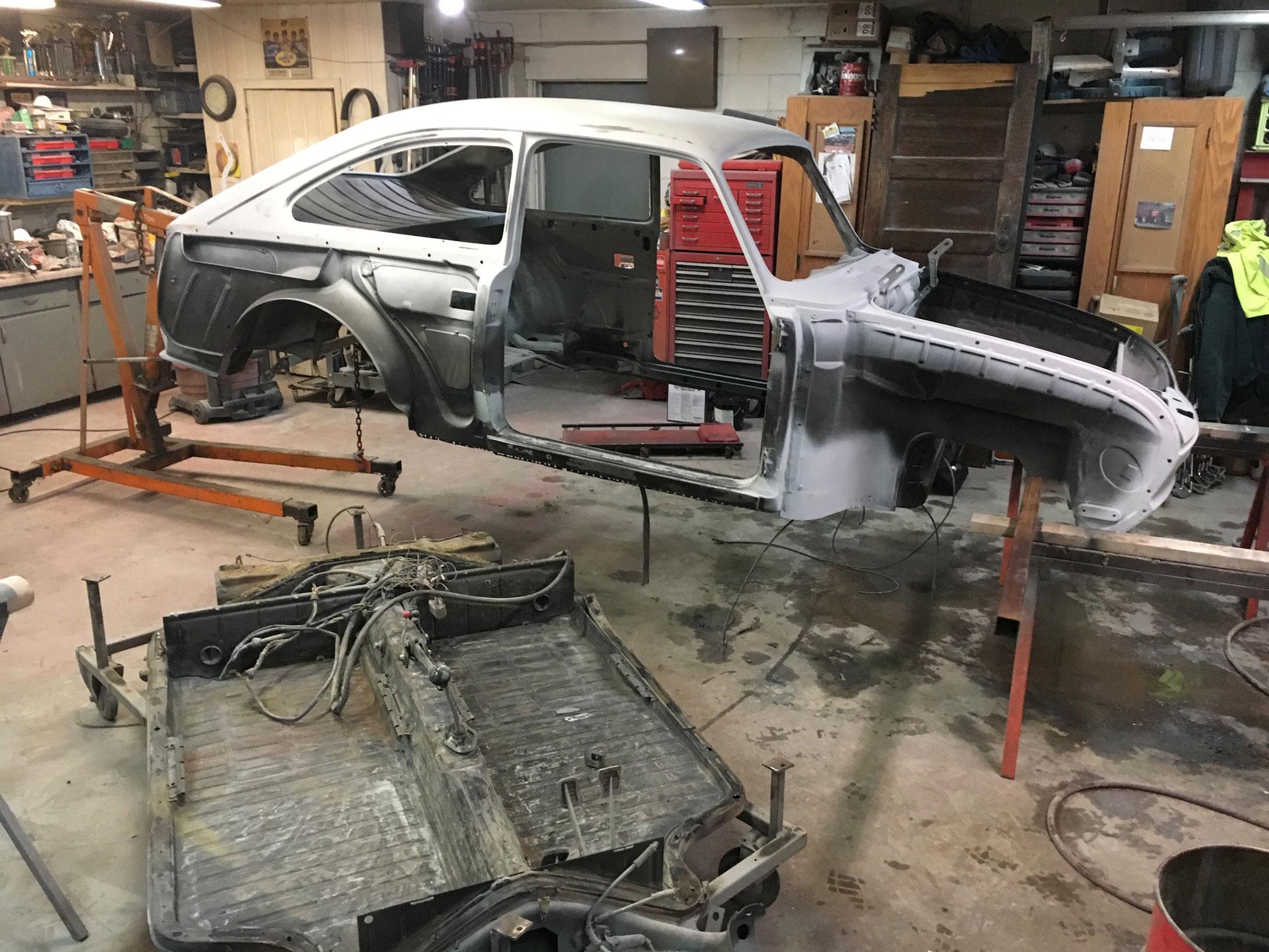 Volkswagen Type 3 restoration