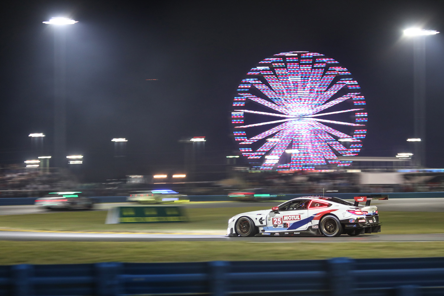 2020 Rolex 24 Daytona BMW Ferris Wheel