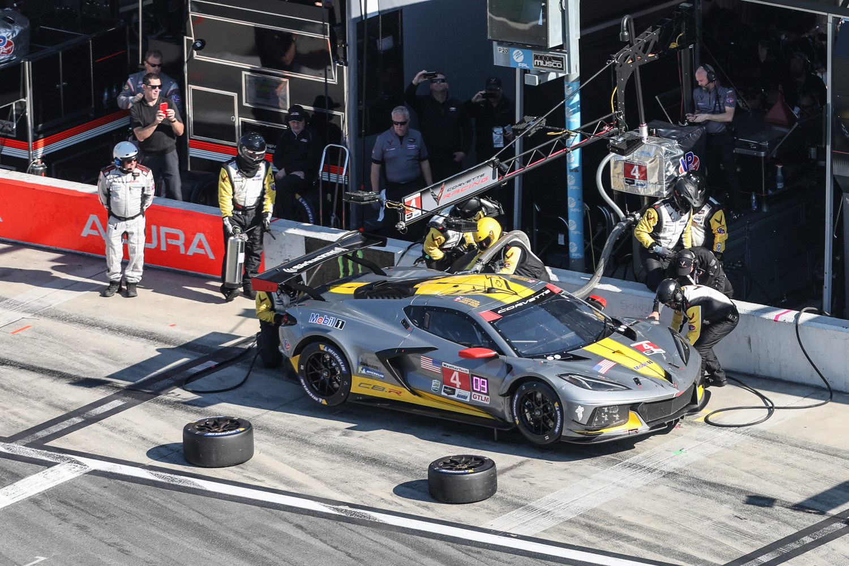 2020 Rolex 24 Daytona Corvette Pit Stop