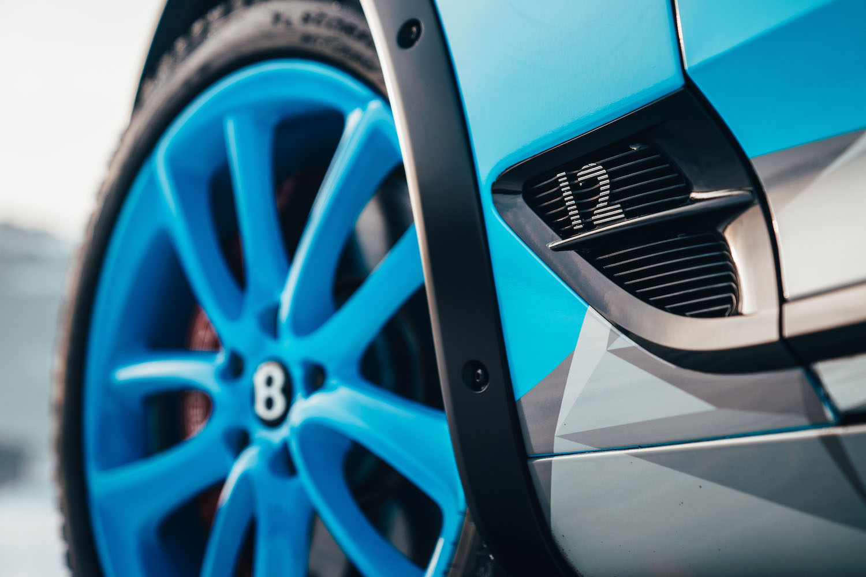Bentley Continental GT Ice Race Car wheel