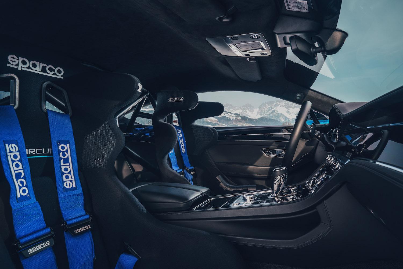 Bentley Continental GT Ice Race Car interior seats