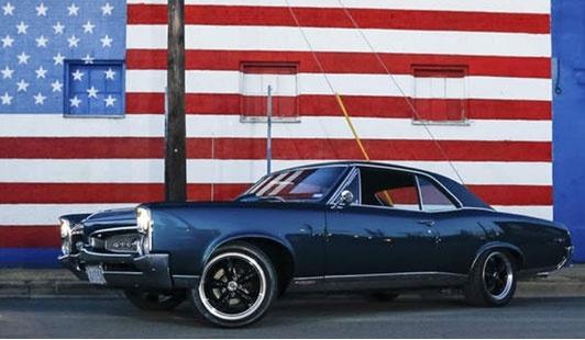 Pontiac GTO front 3/4