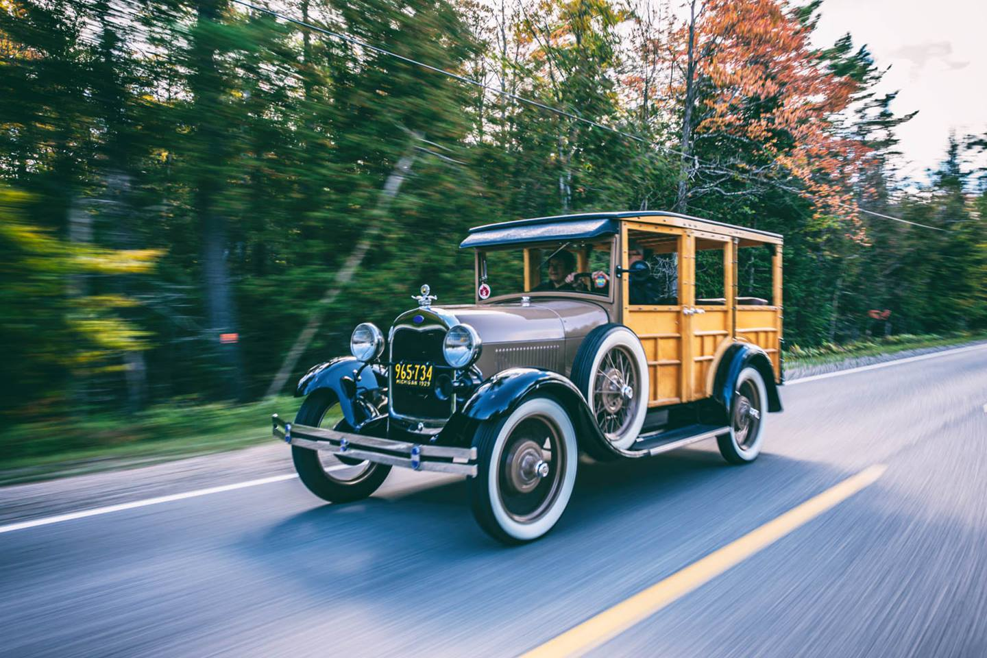 1929 Ford Model A Woodie