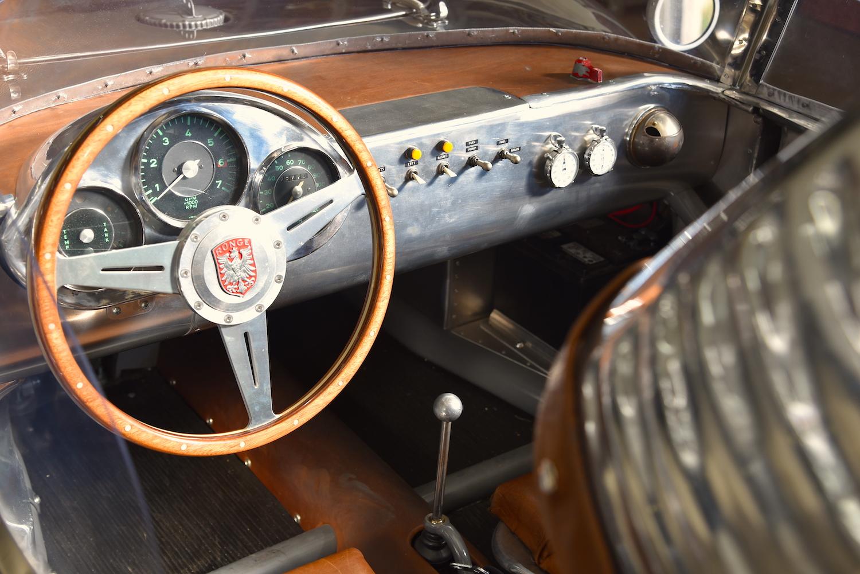 vintage runge interior dash