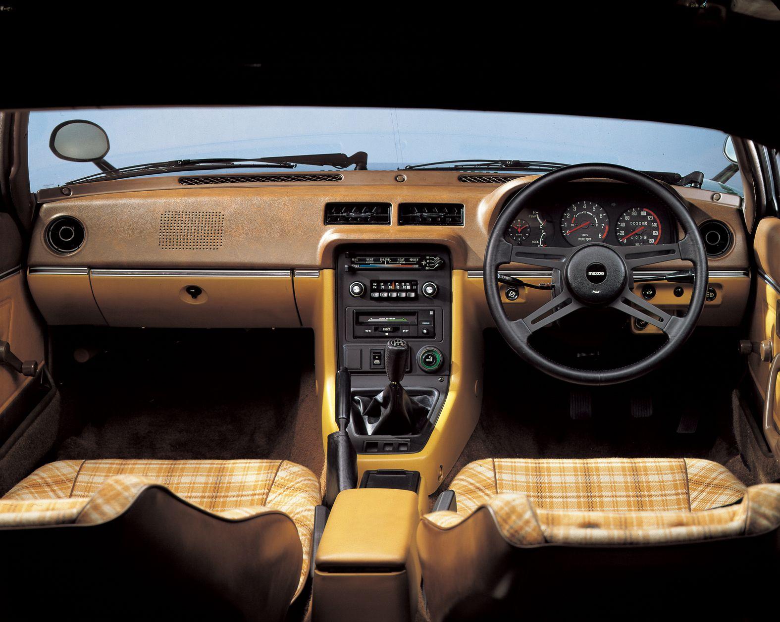 Mazda RX-7 Savanna 1980 interior