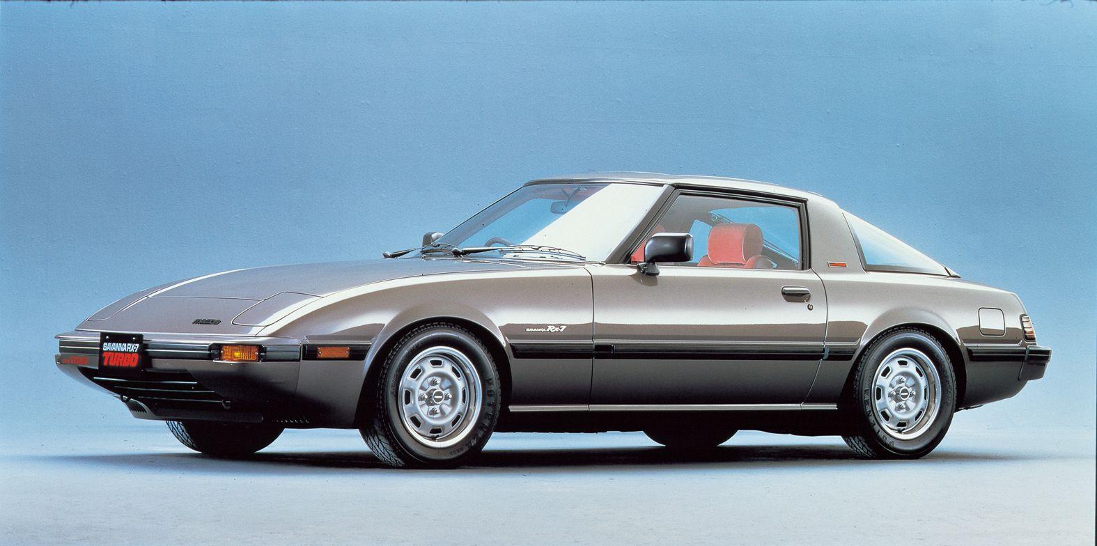Mazda RX-7 Savanna Turbo 1981