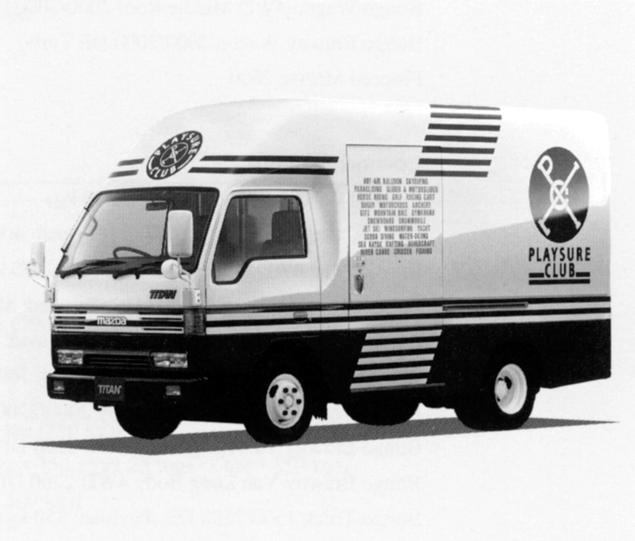 Mazda Titan Stylish Cargo 1993