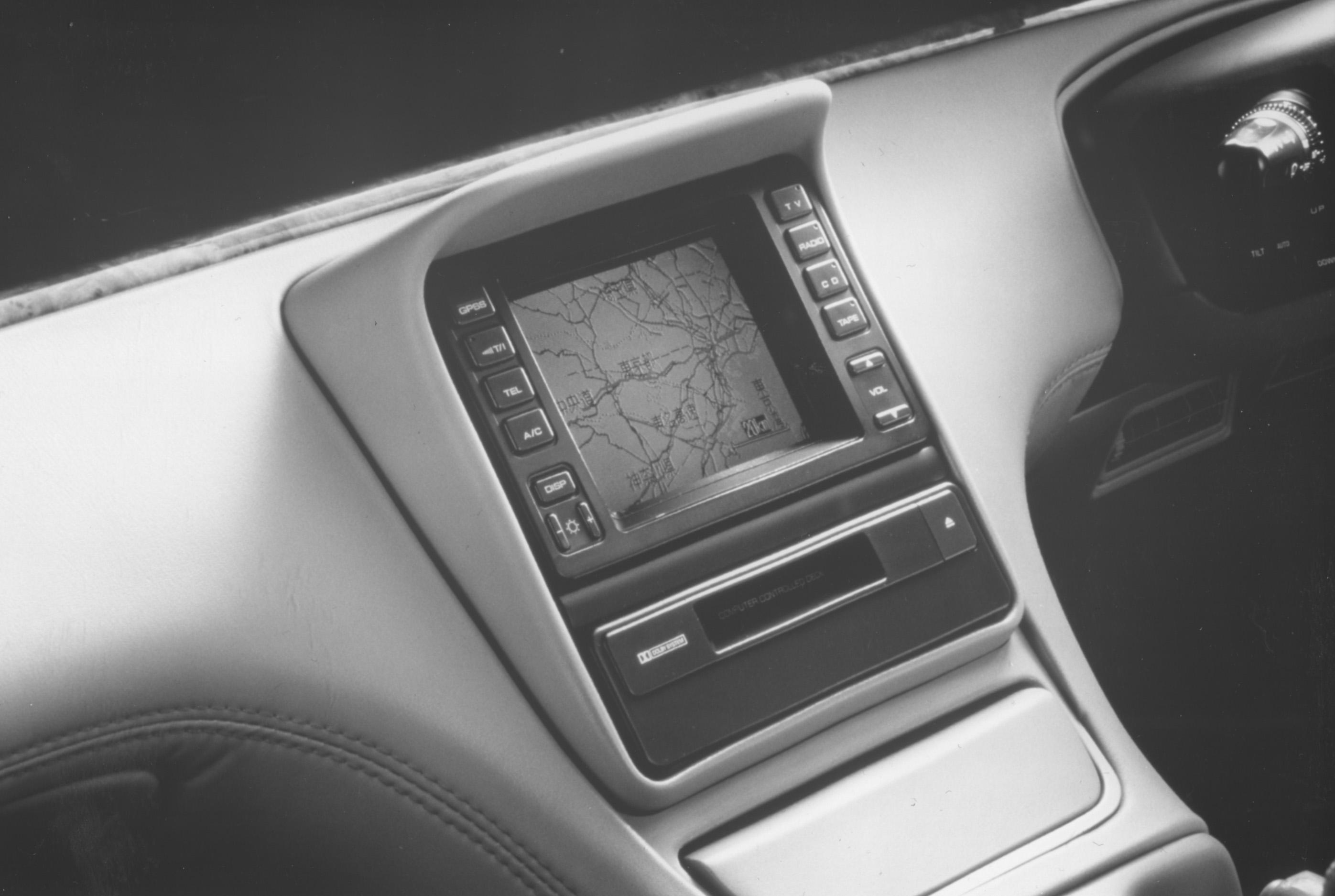 Mazda Cosmo mit Satelliten Navigation 1991