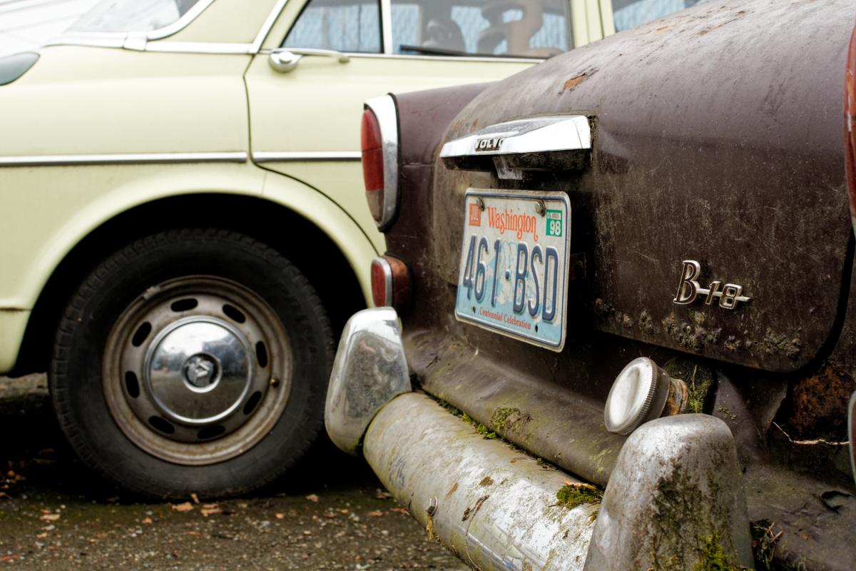 volvo b18 car rear