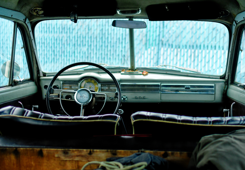 vintage volvo interior