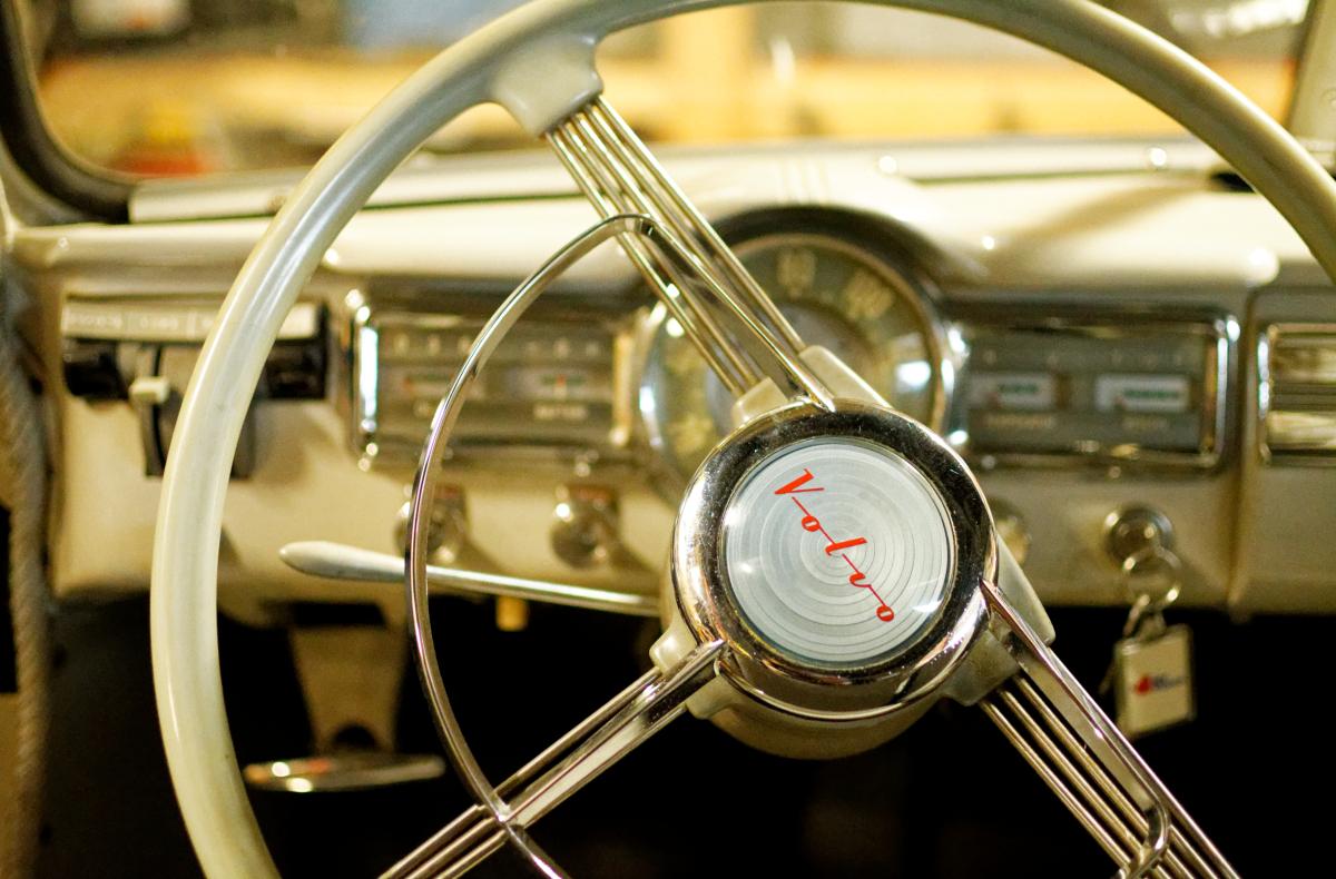 vintage volvo wheel