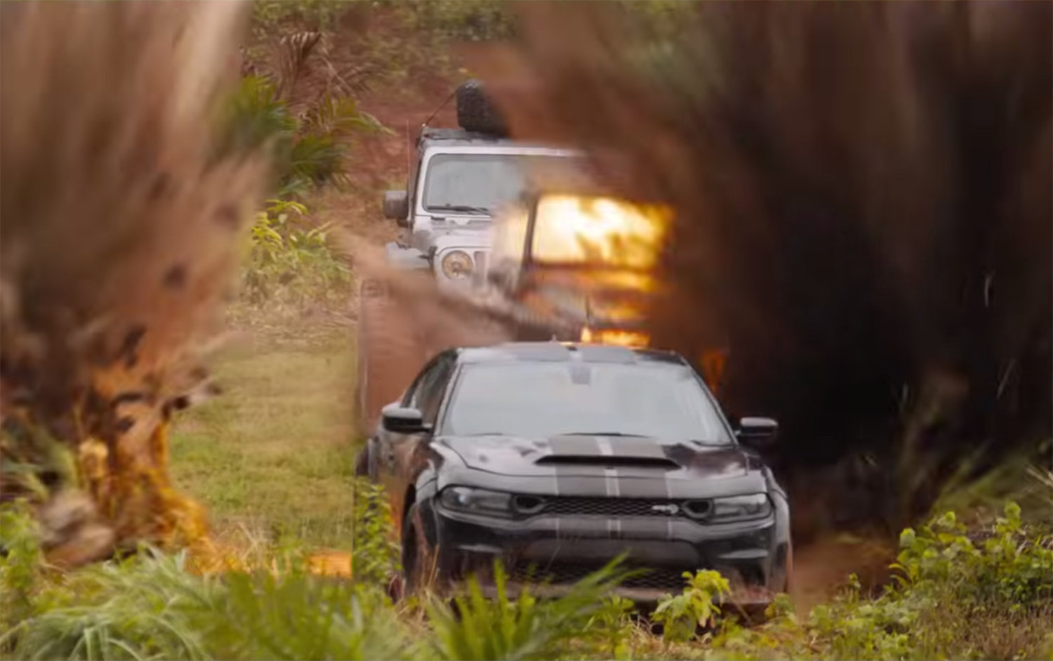 F9 trailer dodge demon emerges from explosions
