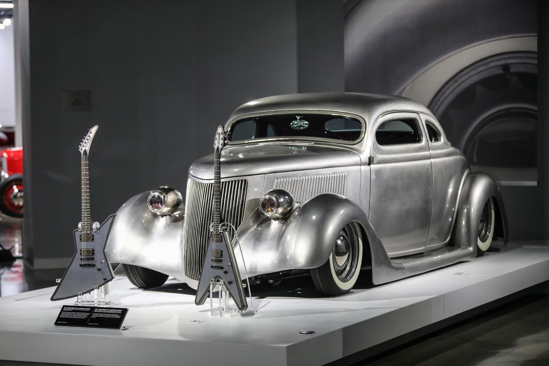 reclaimed rust james hetfield collection exhibit
