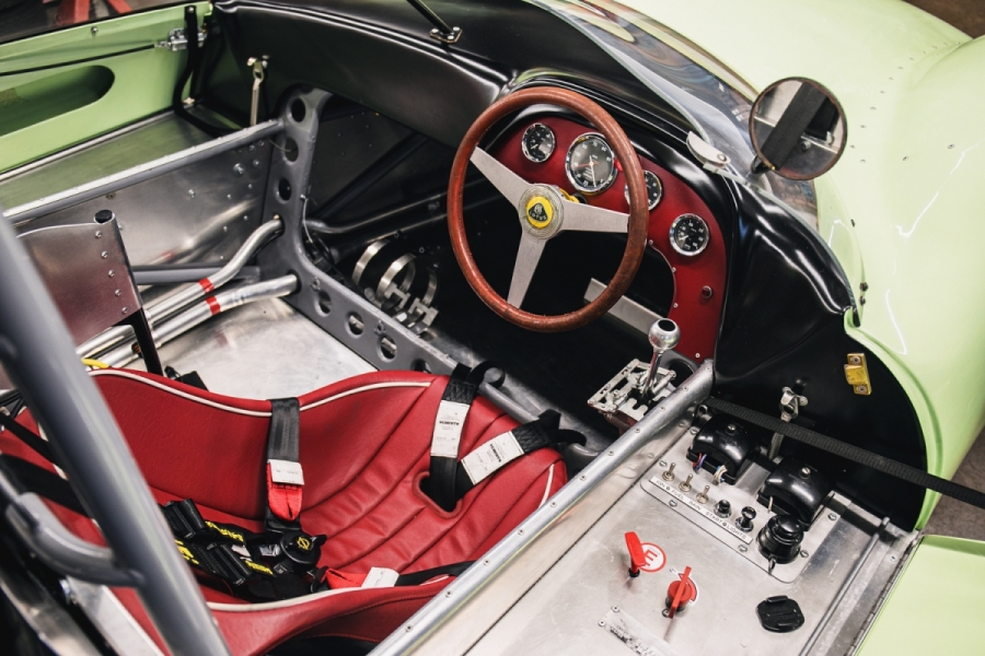 lotus race car interior