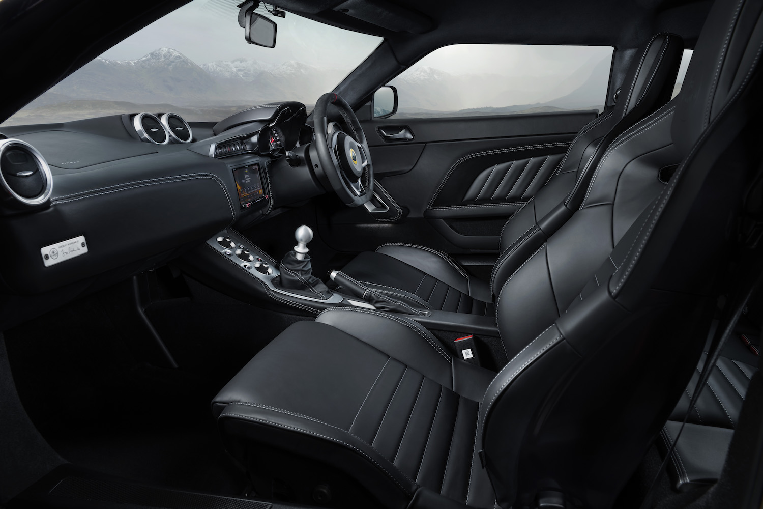 lotus evora gt410 interior