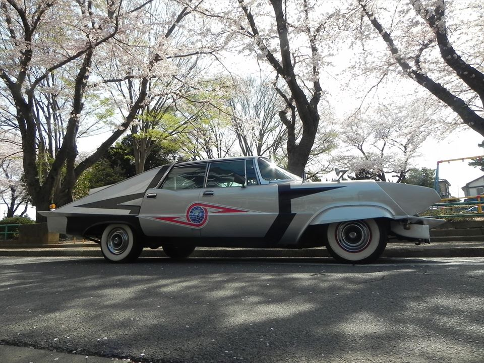 """Japanese Batmobile"" from Ultra-Seven"