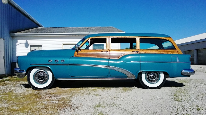 1953 Buick Super Estate Wagon